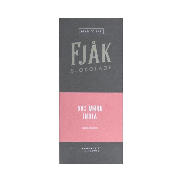 Fjåk - Dark Chocolate - India 68%