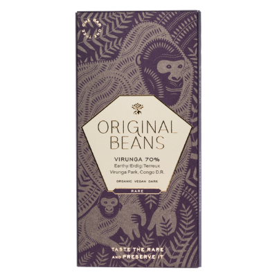 Dark Chocolate - Original Beans Cru Virunga  |  Best Chocolate