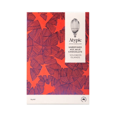 Atypic - Milk Chocolate - SOLOMON ISLAND 45%