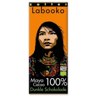 Labooko - No-Sugar Dark Chocolate - Maya Cacao 100%