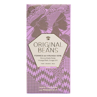 Milk Chocolate - Original Beans Femmes de Virunga | Luxury Chocolate Delivery