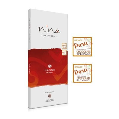 Nina - Dark Chocolate - 70%