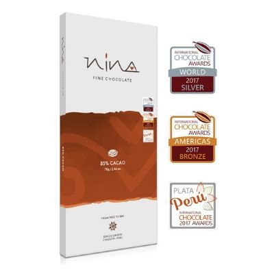 Nina - Dark Chocolate - 85% | Chocolates Singapore