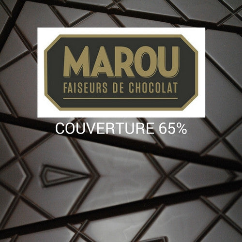 Marou Baking Chocolate (1KG couverture) - Single Origin Tien Giang  65% - HelloChocolate®- Marou