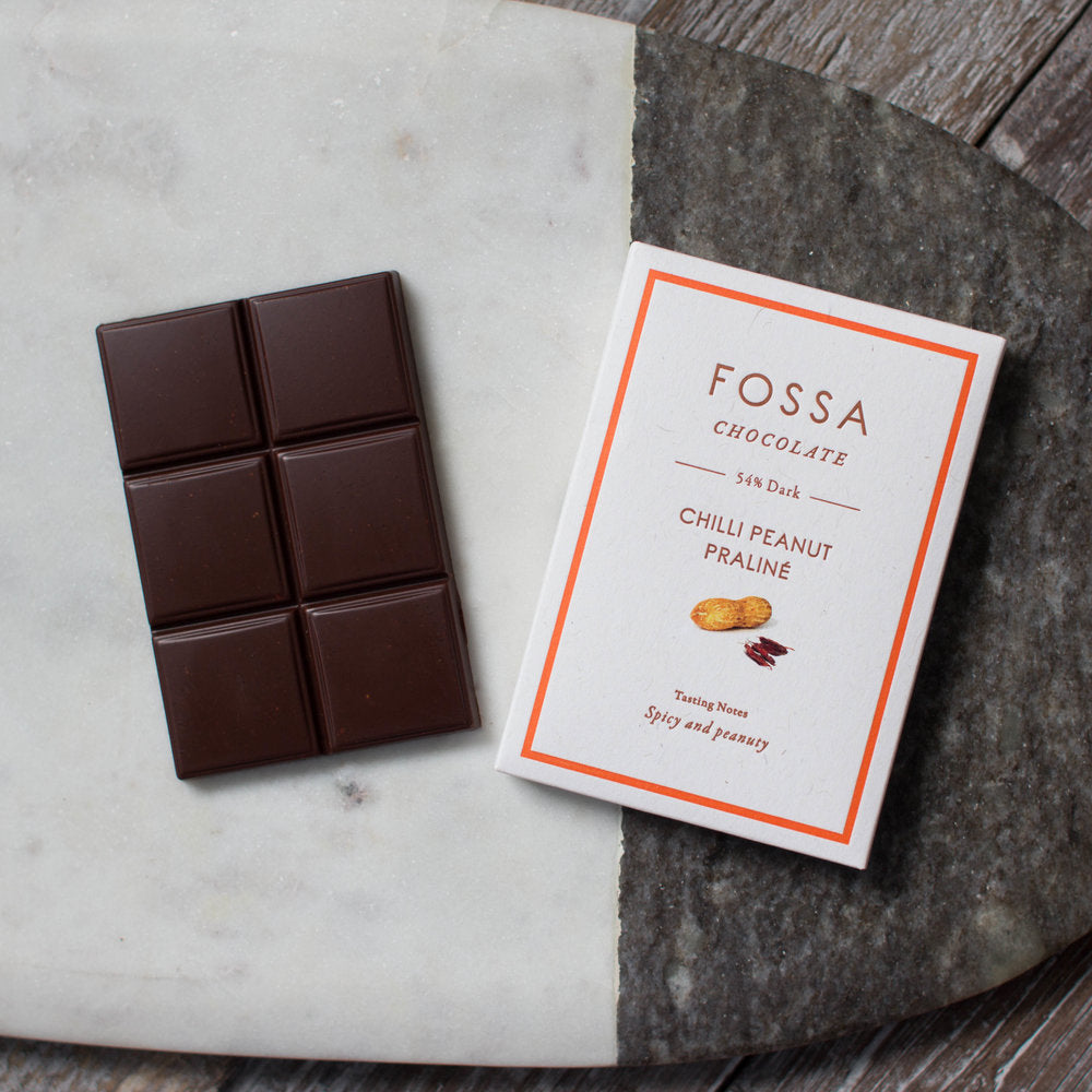 Fossa - Chilli Peanut Praline Chocolate
