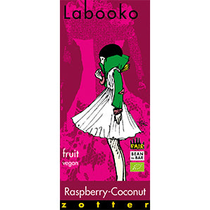 chocolate shop | labooko raspberry coconut