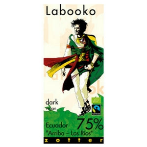 Labooko - Ecuador 75% 'Arriba – Los Rios' Dark Chocolate