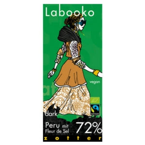 Labooko Peru with Fleur de Sel 72 % dark chocolate