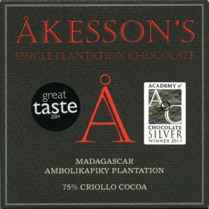 Akesson's Madagascar 75% - Best Dark Chocolate 2016. - HelloChocolate®- Akesson's