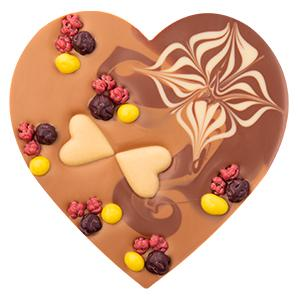 Christmas Chocolate heart | Corporate gift