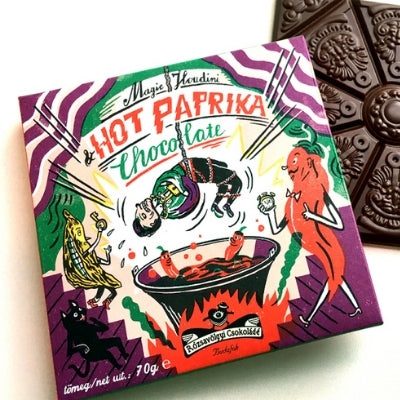 Rozsavolgyi Csokolade - Dark Chocolate - Hot Paprika 73%