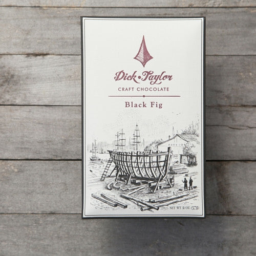 Dick Taylor Black Fig Dark Chocolate 72% - HelloChocolate®- Dick Taylor