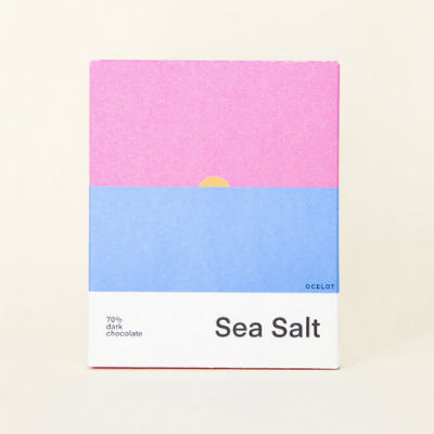 Dark Chocolate - Sea Salt 70% | Ocelot