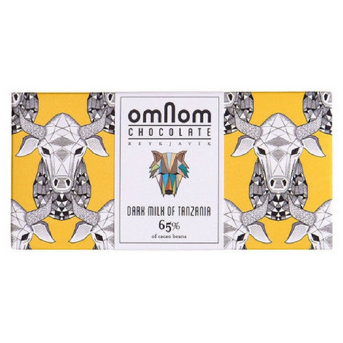 Omnom Dark Milk of Tanzania 65% - HelloChocolate®- Omnom