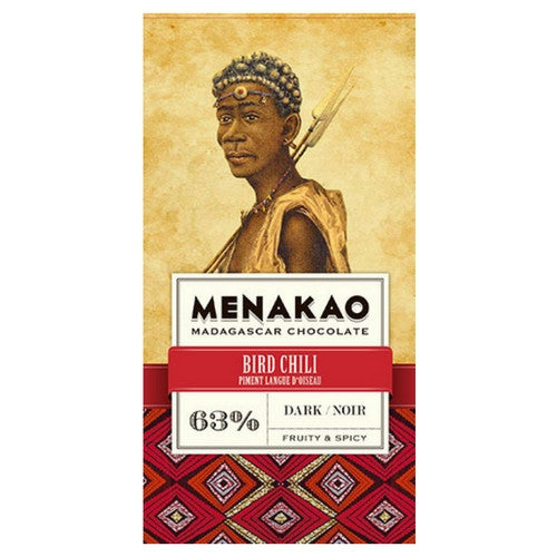 Menakao Chocolate 70% -  Bird Chili - HelloChocolate®- Menakao