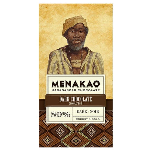 Dark Chocolate - Menakao 80% | Hello Chocolate