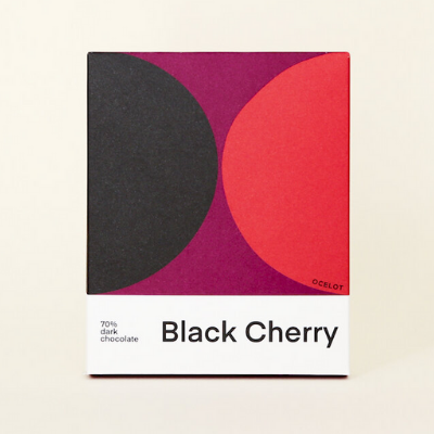 Dark Chocolate - Black Cherry 70% | Ocelot
