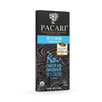 Raw Chocolate - 85% Coconut Sugar | Hello Chocolates