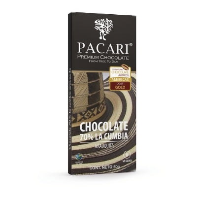 Dark Chocolate - Pacari La Cumbia | Bean-to-bar Chocolate