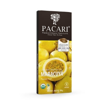 pacari dark chocolate with passion fruit | chocolate gifts delivery