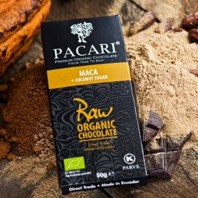 Raw Chocolate - Pacari Maca | Hello Chocolate Discount Code.