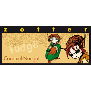 "Zotter - Hand-Scooped Chocolate - Caramel Nougat ""Fudge"""