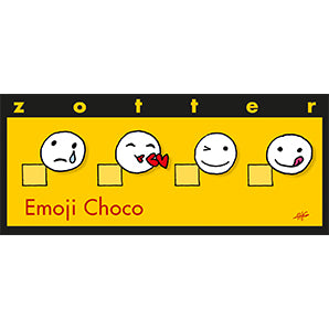 Chocolate with almond nougat & tonkas | Zotter Emoji
