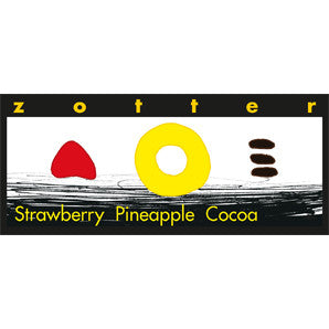 Zotter  - Hand-Scooped Chocolate - Strawberry Pineapple Cocoa