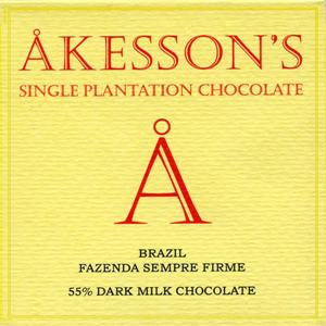 Akesson's Brazil 55% - Best Dark Milk Chocolate 2016 - HelloChocolate®- Akesson's