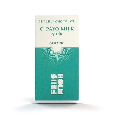 best chocolate online | Friis Holm O'payo Milk 50%