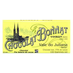 Dark Chocolate - Bonnat Vale Do Juliana | Best Chocolate Online