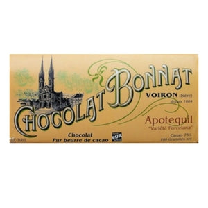 Bonnat - Apotequil Porcelana 75% Dark Chocolate.