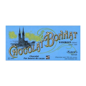 Bonnat - Dark Chocolate - Kaori | Gourmet Chocolate Singapore