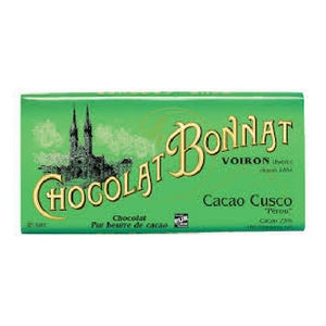 Bonnat - Cusco Perou 75% Dark Chocolate