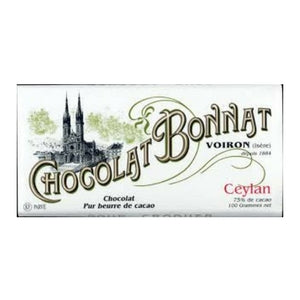 Bonnat Dark Chocolate - Ceylan | Dark Chocolate Bar