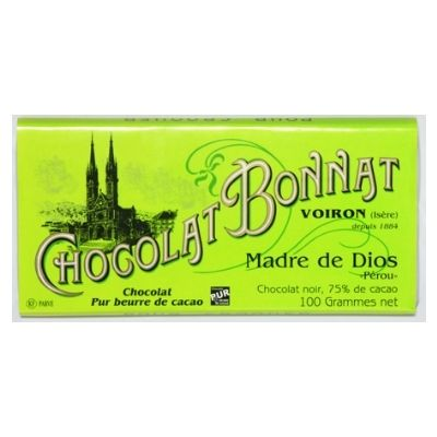 Dark Chocolate - Bonnat Madre De Dios | Hellochocolate