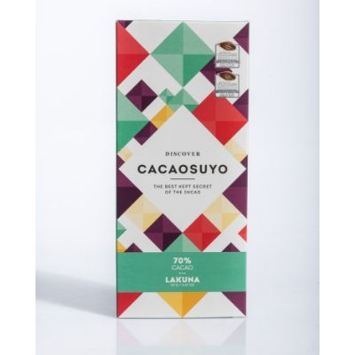 Cacaosuyo - Dark Chocolate - Lakuna 70% | chocolate delivery