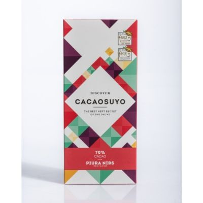 Cacaosuyo Piura Nibs 70% | Best Dark Chocolate