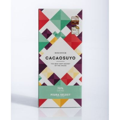 Cacaosuyo Chocolate - Piura Select 70% | Same Day Gift Delivery Singapore