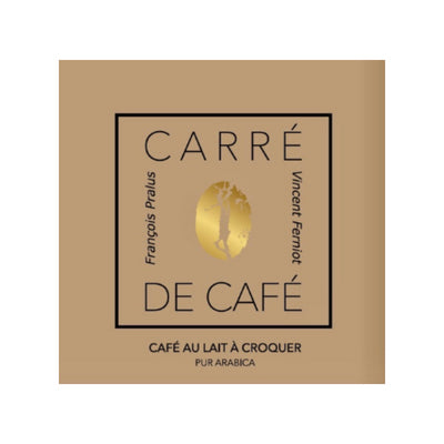 Pralus - Coffee Tablet - Carre de Cafe Lait