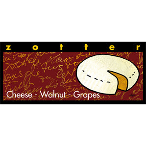 chocolate gifts | zotte cheese walnut grape chocolate