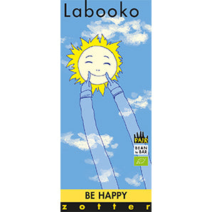 Chocolate Gift Set - Be Happy | Labooko | Zotter