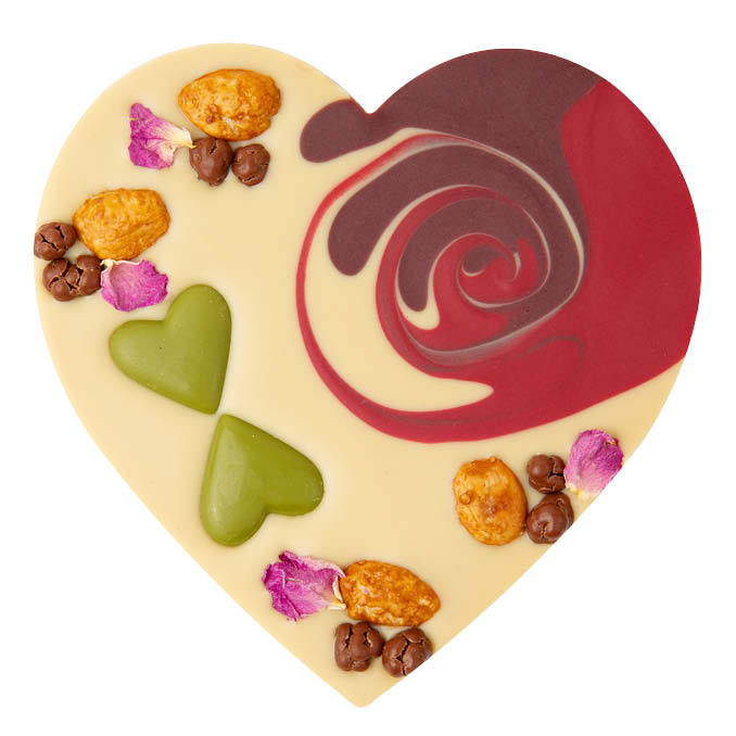 Zotter - Chocolate Gift - Berry-Powered Heart