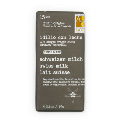 milk chocolate | idilio swiss milk