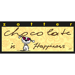 Chocolate is Happiness - Zotter | Same Day Chocolate Delivery Singapore