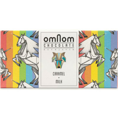 Milk Chocolate - Caramel + Milk - Pride Chocolate | Omnom