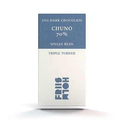 Friis Holm - Dark Chocolate - Chuno Triple Turned 70% (25g)