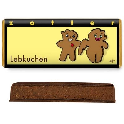 Christmas Chocolate - Zotter Gingerbread | Hello Chocolate