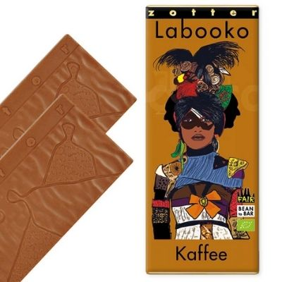 Milk Chocolate - Labooko Coffee | Chocolate Presents Ideas