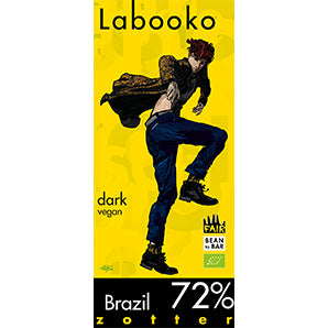 chocolate website | labooko dark chocolate brazil 72%
